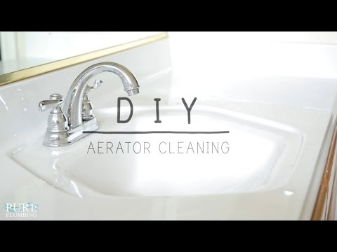 How to Clean a Faucet Aerator
