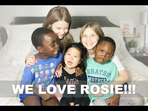 21 THINGS WE LOVE ABOUT ROSIE! - World Down Syndrome Day 2018