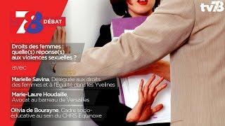 """7/8 Débat – """"Droits des femmes : quelle(s) réponse(s) aux violences sexuelles ?"""""""