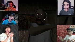 Reaksi Kaget Gamer Indonesia Ketemu Granny [Granny Horror Game]
