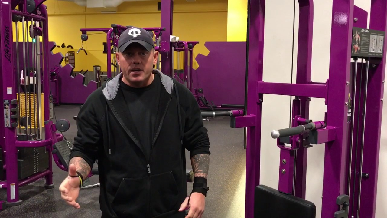 Planet Fitness Pull Up Machine - How to use the pull-up chin up dip Machine