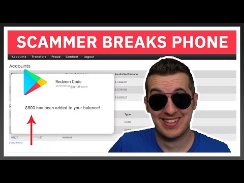 This Scammer Broke His Phone After Losing $2,000