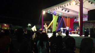 "Soca Monarch 2015 Pantha performing ""Walk with ya Dawg"""