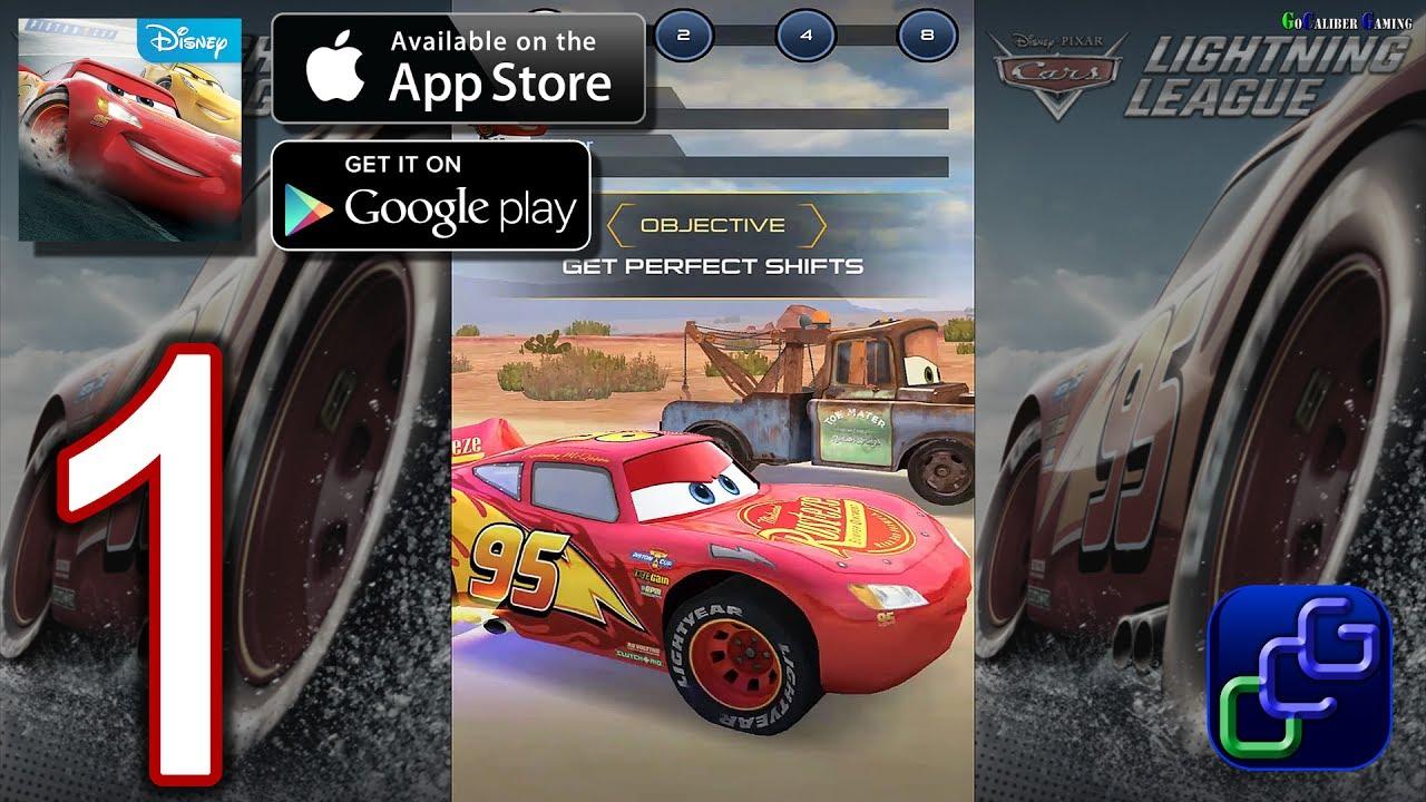 Cars Lightning League Ios Walkthrough Gameplay Part 1