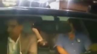 شاهد.. لحظة خروج سوزان مبارك بعد زيارتها لزوجها بمستشفى المعادي