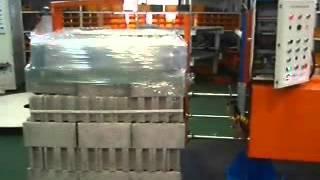 암회전형반자동랩핑기