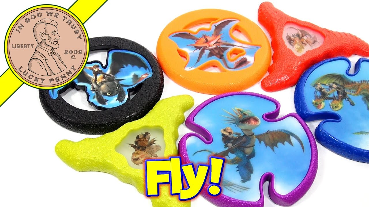 Mcdonald S How To Train Your Dragon 2 Kid S Meal Toys Luckypennyshop Com Youtube