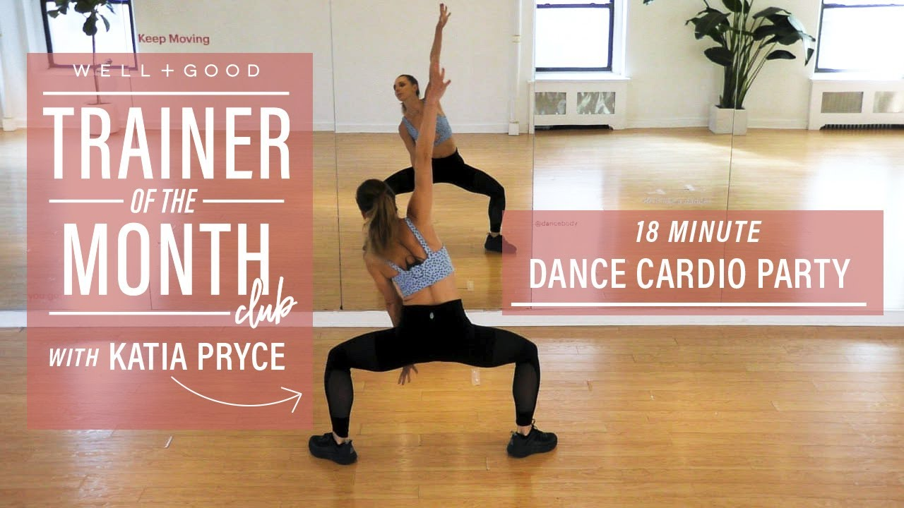 18 Minute Dance Cardio Party with DanceBody | Trainer of the Month Club | Well+Good