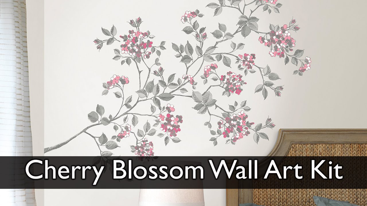 Cherry Blossom Wall Art Decal Kit   YouTube Part 87