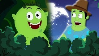 Bois effrayants | Chanson scary enfants | rime de l'Halloween | Scary Woods | Kids Halloween song