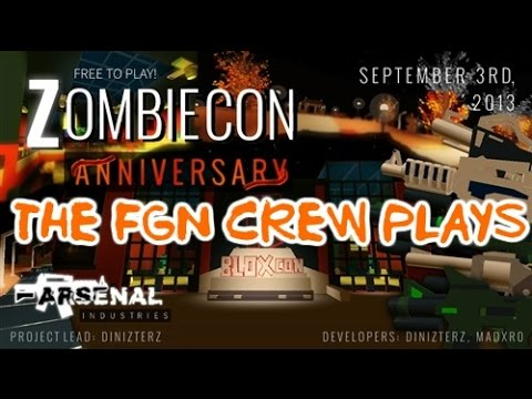 The FGN Crew Plays: Roblox - ZombieCon (PC)