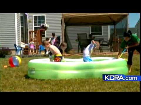 Study Warns About Small Pool Dangers