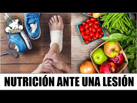 NUTRICIÓN ÓPTIMA ANTE UNA LESIÓN