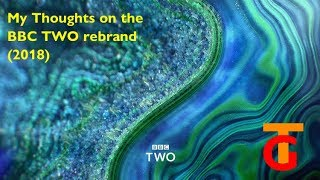 A review of the new BBC Two idents. I'm in love with the shape of 2