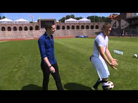 John Guidetti i TV4 Sporten (2011)