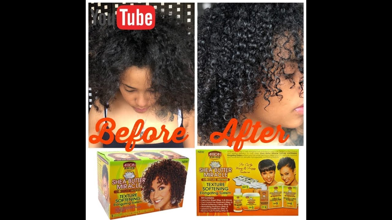 Comment Faire Pour Me Relaxer shea butter miracle texture softening elongating system review stepstep