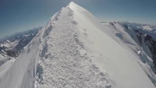 Mont Blanc i Mont Blanc du Courmayeur