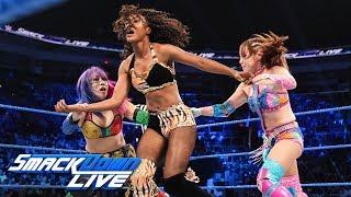 Kairi Sane & Asuka vs. local competitors: SmackDown LIVE, April 30, 2019