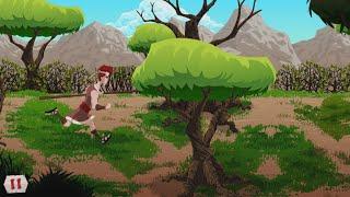 David vs. Goliath App - Mini-Game - Lion Chase!