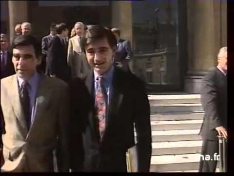 L'état major de Balladur en 1995 avec sarkozy