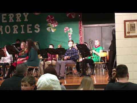 Parchment Middle School Seventh Grade Wassailing Concert 2019