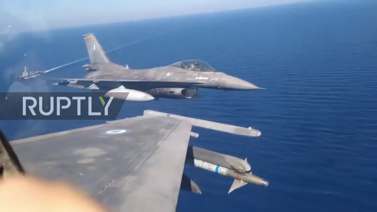 Greece: US-Greek military hold joint aeronautical exercise south of Crete