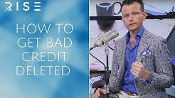 How to Get Bad Credit Deleted For Free