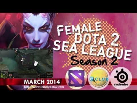 Female Dota2 Sea League : MSI.VFF VS PMS.Asterisk