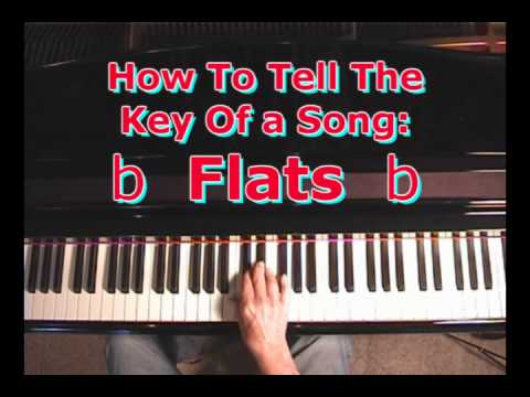 how to tell what key a song is in