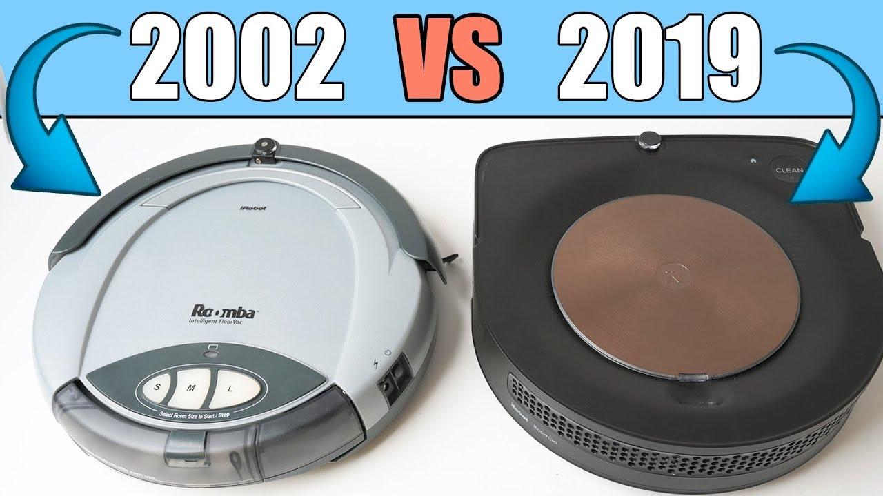 The Original Roomba 2002 Vs Roomba S9 2019 Wow
