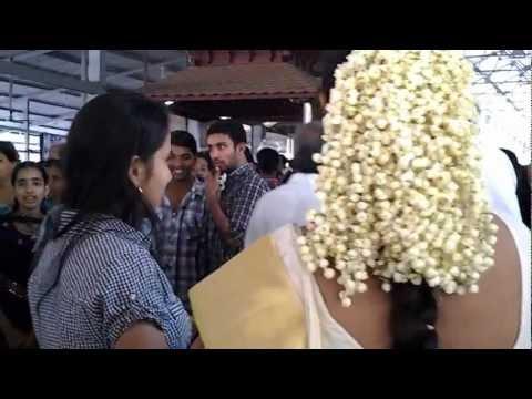 Devika Nambiar @  Suriya's Wedding, Guruvayur