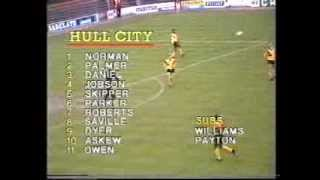 1987/88 Season: Hull City 2 - 1 Crystal Palace