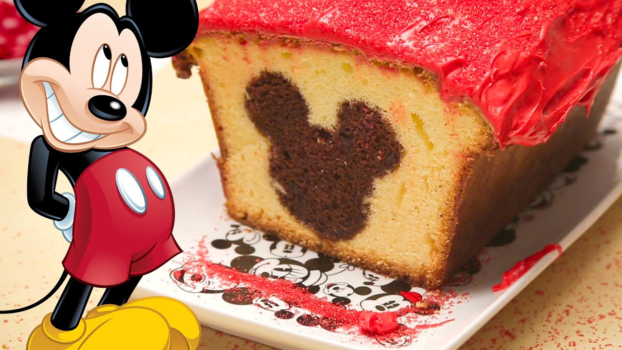 Mickey Mouse Peekaboo Cake Dishes By Disney Youtube