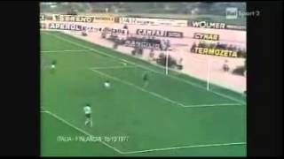 Italia - Finlandia 6-1 - Qualificazioni Mondiali 1978 - 2° gruppo eliminatorio europeo - 4a gara