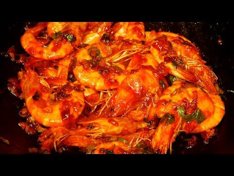 Chili Garlic Shrimp Recipe