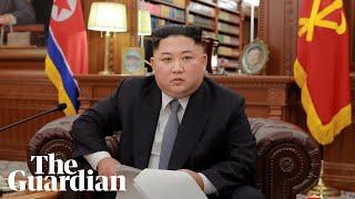 Kim Jong-un's new year message