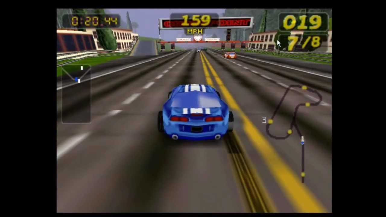 Juego De Carrera De Carro Para Pc Emulador Youtube