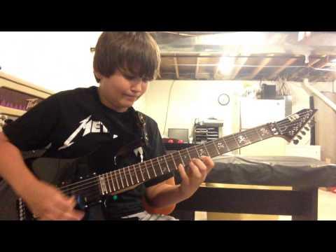 Metallica  Master of Puppets Kirk Hammet Guitar Solo