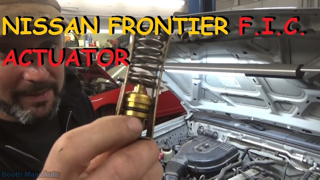 Nissan Frontier - Thermostatic Fast Idle Solenoid (FIC Actuator)