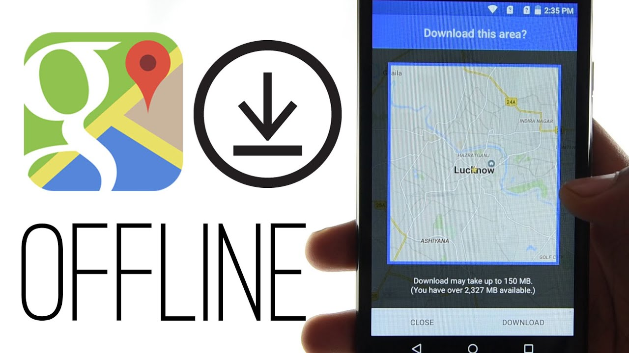 how to use google maps offline feature on android (india)  youtube - how to use google maps offline feature on android (india)