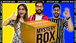 MYSTERY BOX FOOD CHALLENGE 🔥