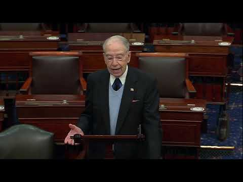 Grassley Explaining the Democratic Cover-up of the Hunter Biden Investigation