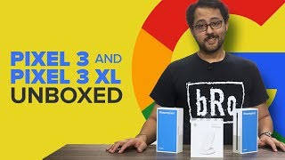 Unboxing the Google Pixel 3, 3 XL and Pixel Stand