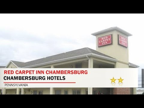 Red Carpet Inn Chambersburg - Chambersburg Hotels, Pennsylvania
