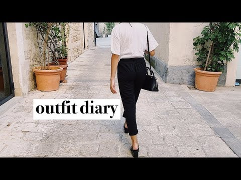 outfit diary: trip to southern italy