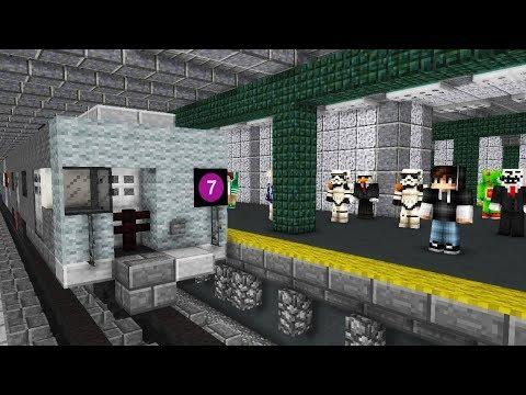 Minecraft NYC SUBWAY 7 Train MTA R62A R188 Animated