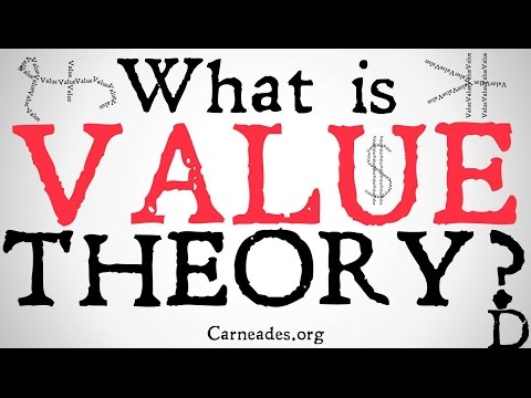 What is Value Theory? (Axiology and Theory of Value)