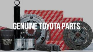 Why Olathe Toyota Parts Center?