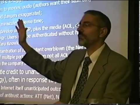 Currie Lecture 2000 | Robert E. Litan, Law and Policy in the Internet Age