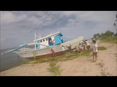 "The BIG Boat Tour - Part 2 - Launching the ""nene Perla"" - AKA The Mayflower ;-)"
